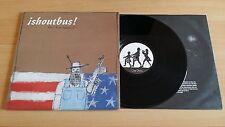 ¡SHOUTBUS! - AIN'T THAT AMERICA? - LP 33 GIRI+LYRICS INNER SLEEVE - USA PRESS