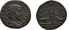 Ancient Rome 241 AD Moesia GORDIAN III VIMINACIUM DACIA BULL LION #2