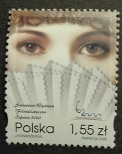 POLAND STAMPS MNH Fi3685 Sc3523 Mi3833 - Philatelic Exhibitions Espana, 2000,**