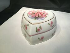 MUSIC TRINKET BOX HEART SHAPED MELODIES CELEBRATION CALL ME SWEETHEART HERITAGE