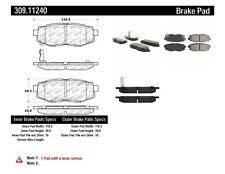 Disc Brake Pad Set-3.6R Rear Stoptech 309.11240