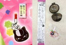 Natsume Yuujinchou Nyanko-Sensei Sweets Strap Ver D Stars & Riou Face T-ARTS NW