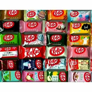 Japanese kit kats mini kitkats 24P ALL DIFFERENT flavors candy Ships From USA