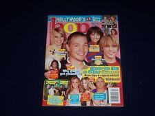 2005 FEBRUARY BOP MAGAZINE - HILARY DUFF & JESSE MCCARTNEY COVER - SP 4944
