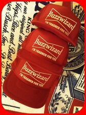 Buzzwizard Budweiser vintage beer trucker hat coors patch jacket shirt sweatshir