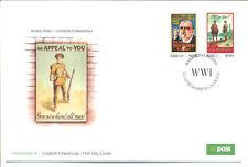 Irlanda-I Guerra Mundial-militar Carteles Art-Primer Día Cubierta-soldados