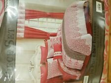 Kismet Coral Medallion 10 pc Comforter Bed Set Queen