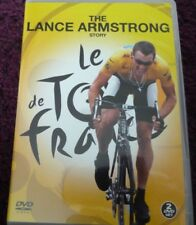 THE LANCE ARMSTRONG STORY*DVD*LE TOUR DE FRANCE*2 DISC*CYCLING*SPORT*