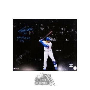 Vladimir Guerrero Jr Impaler Jr Autographed Toronto Blue Jays 16x20 Photo - JSA