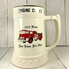 Vtg Fair Lawn Fire Dept. Engine Co # 2 New Jersey 1979 Cup Mug *CHIP Stein Ernst