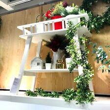 IKEA Banc pour Fleurs Long Tabouret à Blanc Pflanzenbank Style Campagnard Bois