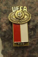 1984 UEFA European Football Championships Poland Polish Team Soccer Pin Badge