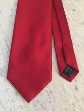 NUOVO Uomo Gents M/&S finito a mano fine SETA paisley pattern Cravatta Blu Scuro