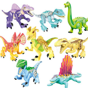 Dinosaur Action Figures Brachiosaurus Stygimoloch Stegosaurus Building Toys