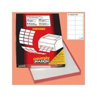 Stock 10000 Etichetta adesiva Markin C507 permanente 105 x 59 mm 10 x 1000 262