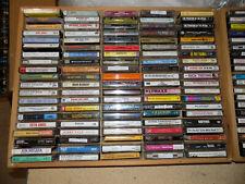 Music Cassette Tapes Lot (YOU PICK) Rock Pop R&B Soul Metal FREE SHIPPING!