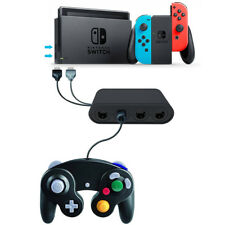 4-port Nintendo Switch GameCube to Wii U PC Controller Gamepad Converter SW1