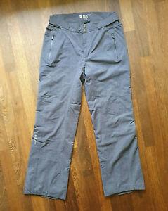 Men's Mountain Force Salopettes Ski Trousers Pants Size L (EUR 52) Grey