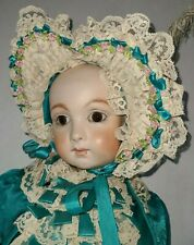 "Reproduction Antique French 25"" Jumeau Doll Antique Clothes/Clothing"