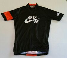 Rare 2013 Nike SB Team Edition 5 Cycling Racing Jersey Black Orange Small Italy