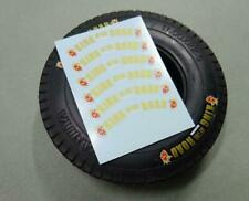Water Decal DUNLOP Tires Sticker for 1/14 Scale Tamiya Tractor LESU RC4WD SCANIA