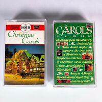 Joblot 2X An Hour of Christmas Carols Album Huddersfield Choral Society Cassette