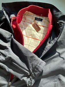 NWT $2700 Loro Piana Roadster Pebble Beach Storm Jacket Size 2XL Navy Red w/Vest
