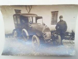 FOTOGRAFIA PRIMA GUERRA MONDIALE WW1 AUTOMOBILE AUTO MACCHINA REGIO ESERCITO