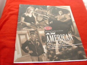 Case USA American Classic 2009 72pg + Cover Knife Product Color Catalog Book