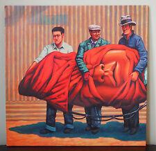 The Mars Volta Amputechture 2006 2x LP M/NM Unplayed White/Orange Marbled Vinyl