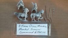 25mm Dixon Miniatures Japanese Mounted Samurai Command