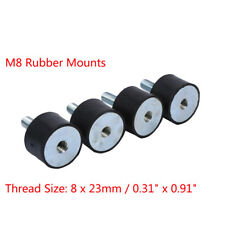 4Pcs Diesel Engine Car Boat Bobbin Rubber Shock Anti Vibration Isolator Mount TP