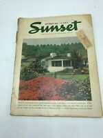 Sunset The Magazine Of Western Living Vintage Issue From November 1946