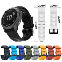 Für Garmin Fenix6X / Fenix5X / FeniX3 HR Silikonarmband Uhrenarmbänder Armband
