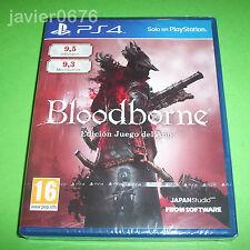 BLOODBORNE EDICION JUEGO DEL AÑO NUEVO Y PRECINTADO PAL ESPAÑA PLAYSTATION 4 PS4
