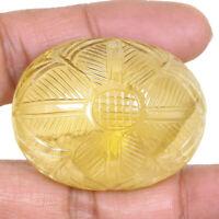 Natural Carved Citrine 231.40 Cts Stunning Huge Pendant Size Sparkling Gemstone