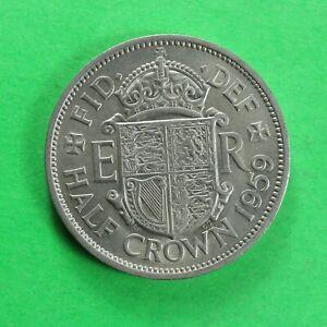1959 Elizabeth II Half-Crown 2/6 SNo60611