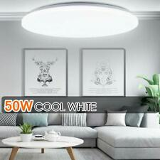 50w Led Surface Mount Fixture Ceiling Light Room Kitchen Round Panel Lights