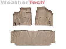 WeatherTech FloorLiner - Dodge Grand Caravan 2nd Row w/ Bench - 2008-2012- Tan