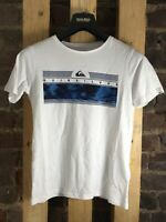 Quicksilver The Art T-Shirt - White - UK 10 - NEW