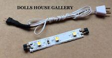 Heidi Ott LED Strip Lighting With Wire & Plug, Dolls House Miniature Lights
