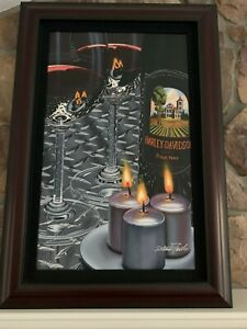 """Scott Jacobs """"Hot Diamond"""" Framed and Signed Painting"""