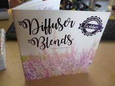Essential oil DIFFUSER diffusing BLENDS recipe how to BOOKLET mini book manual