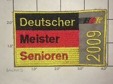 Deutscher Meister Senioren Patch - 2009 - Germany