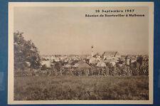 28 Septembre 1947 Réunion de Bourtzwiller à Mulhouse - 68 HAUT RHIN