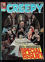CREEPY #50 1973 WARREN 9.2 NM+ RARE 50th ANNIVERSARY SPECIAL W/VAMPIRELLA & MORE