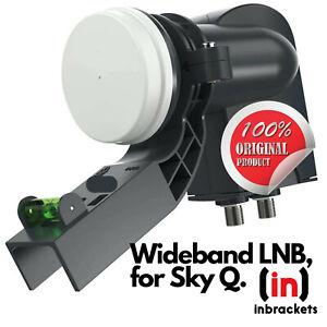 Wideband LNB for sky q Freesat 4k g3 box  fits MK4 zone 1 or 2 satellite dish UK