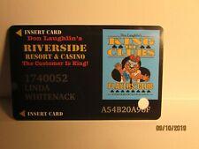 Riverside Resort & Casino- Players Card-Laughlin ,Nv- nice