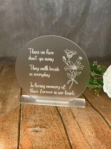 Memorial Sign, Loved ones Sign, In Loving Memory, Deceased Memory