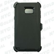 For Samsung Galaxy Note 5 Case Cover (Belt Clip Fits OtterBox Defender )Black